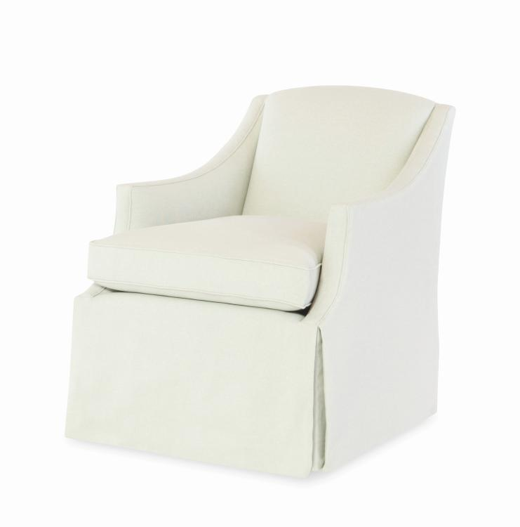Astounding 1259Sw Raleigh Skirted Swivel Chair Gamerscity Chair Design For Home Gamerscityorg